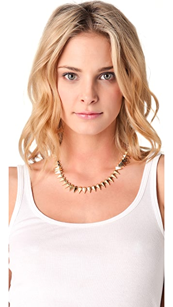 Noir Jewelry Noir for L.A.M.B. Pointy Collar Necklace