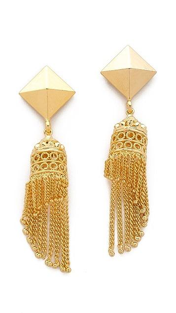 Noir Jewelry Darjeeling Waterfall Earrings