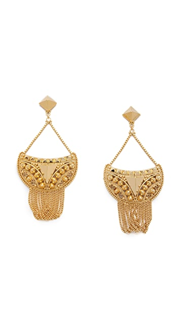 Noir Jewelry Darjeeling Chandelier Earrings