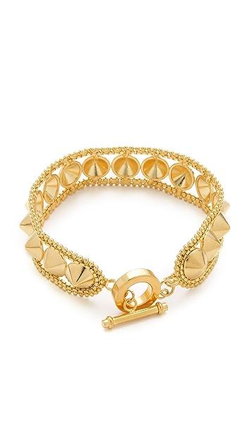 Noir Jewelry Darjeeling Spiked Bracelet