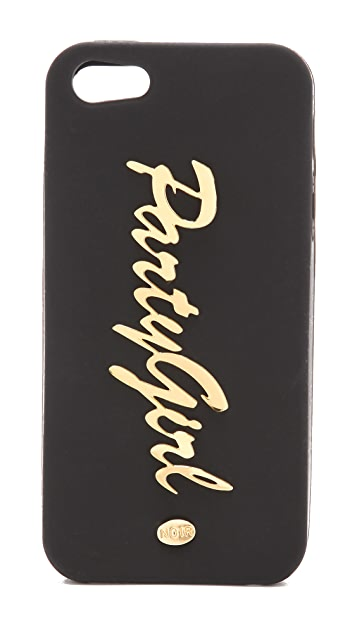 Noir Jewelry Party Girl iPhone 5 Case