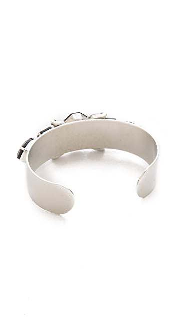 Noir Jewelry Gemstone Cuff Bracelet