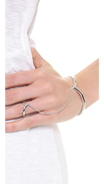 Noir Jewelry Simple Hand Chain