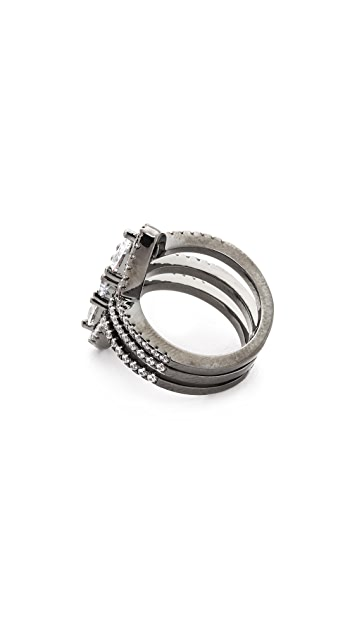 Noir Jewelry Belvedere Stack Ring