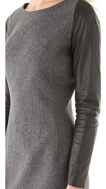 Misha Nonoo Sarah Dress with Leather