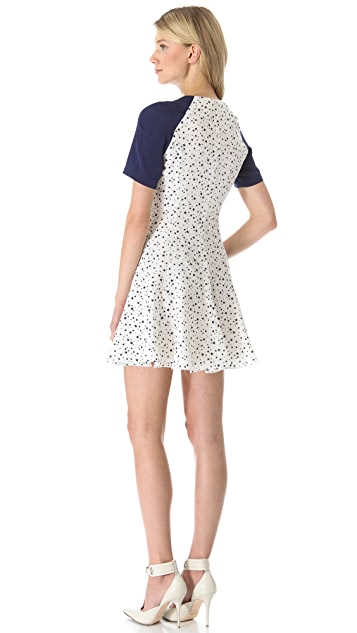Misha Nonoo Sierra Raglan Star Dress