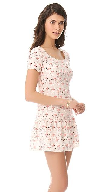 Misha Nonoo Monica Flamingo Dress