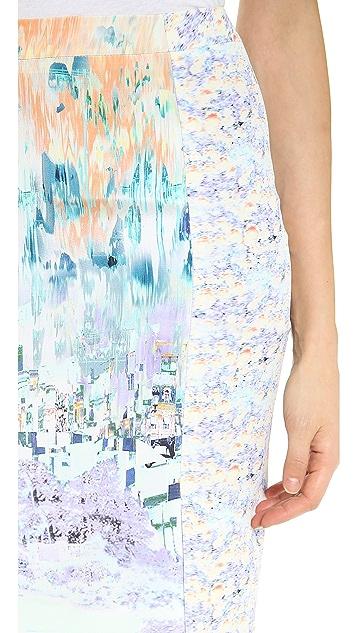 Misha Nonoo Wrap Around Panel Skirt