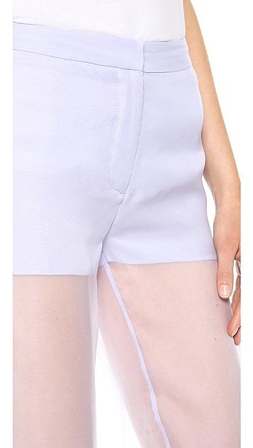 Misha Nonoo Organza Track Pants
