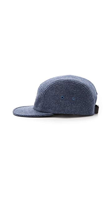 Norse Projects Flannel 5 Panel Cap