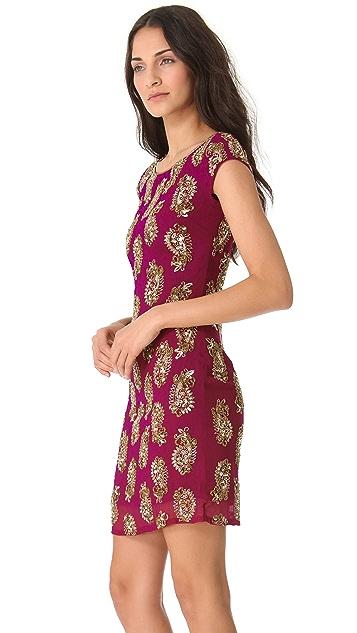 Marchesa Notte Fully Beaded Dress