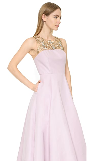 Marchesa Notte High Low Gown