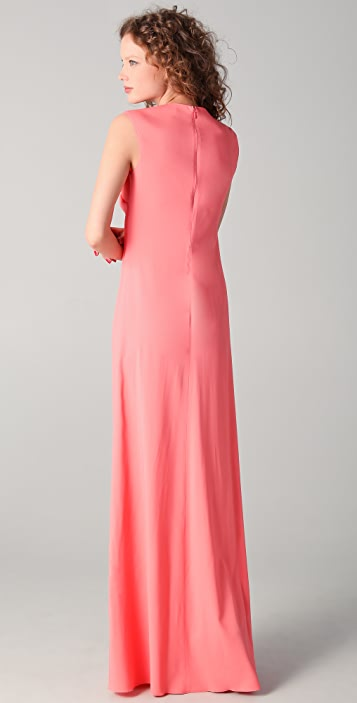 No. 21 Long Dress with Front Detail