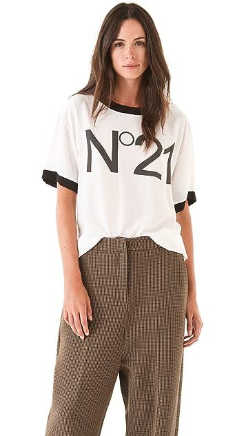 No. 21 No. 21 Logo Tee