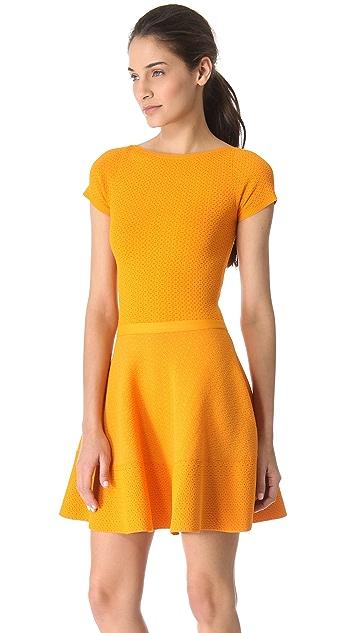 No. 21 Short Sleeve Knit Dress