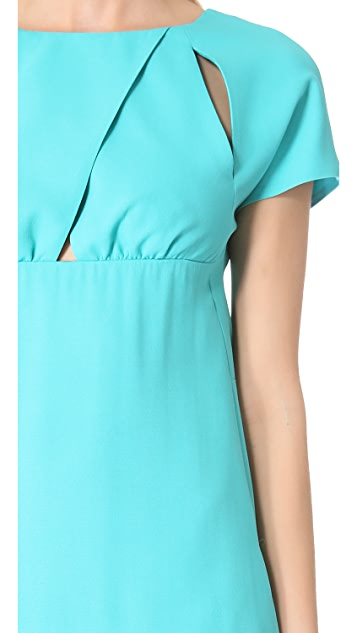 No. 21 Short Sleeve Dress with Cutouts