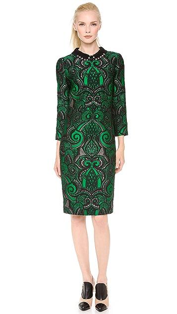 No. 21 Brocade Dress