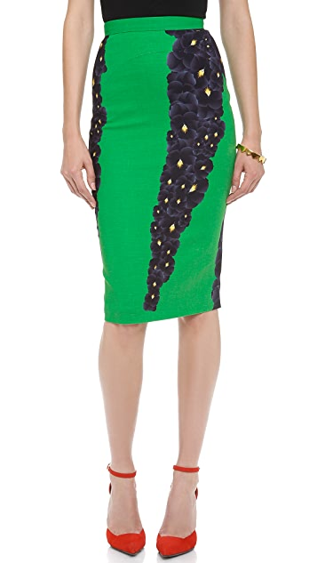 No. 21 Floral Print Skirt