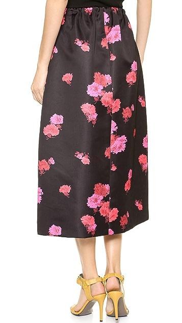 No. 21 Floral Maxi Skirt