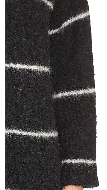 No. 21 Striped Sweater