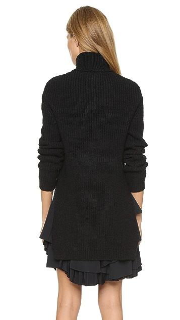 No. 21 Knit Layered Dress