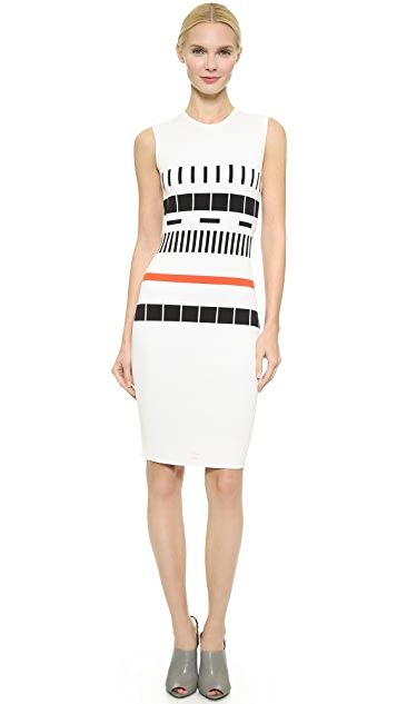 Narciso Rodriguez Sleeveless Reversible Knit Dress