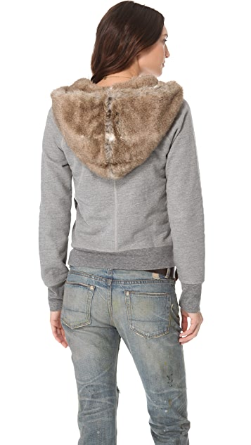 NSF Sansa Faux Fur Hoodie