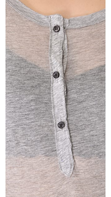 NSF Miro Long Sleeve Henley