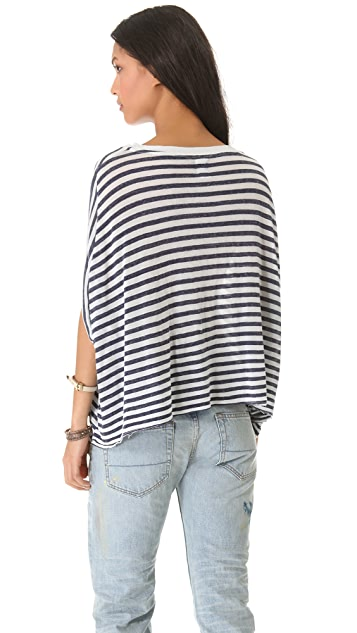 NSF Mazzie Striped Top