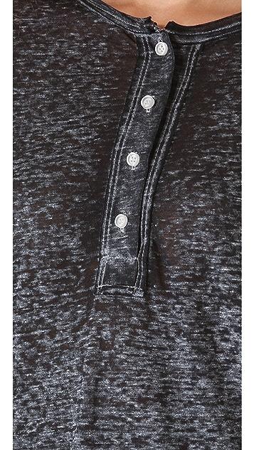 NSF Long Sleeve Henley