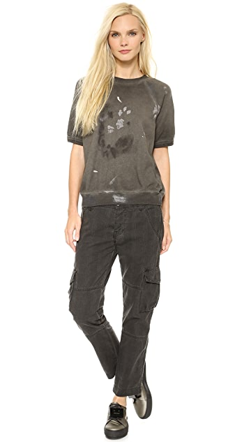 NSF Oil Wash Basquiat Pants