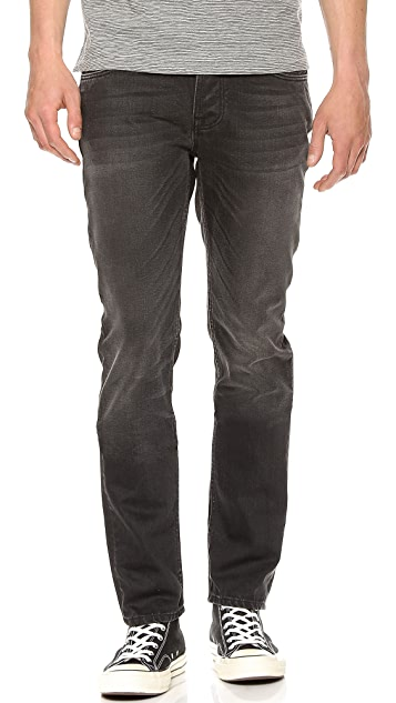 Nudie Jeans Co. Grim Tim Black Voyage Jeans