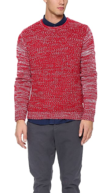 Native Youth Contrast Sleeve Pullover