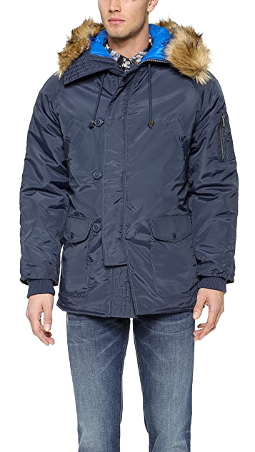 Native Youth Nylon Snorkel Parka