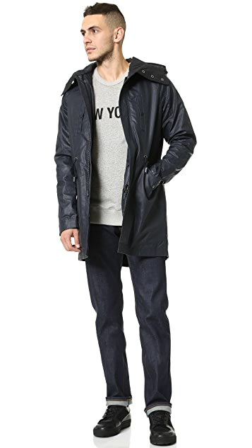 Native Youth Dry Wax Fishtail Parka
