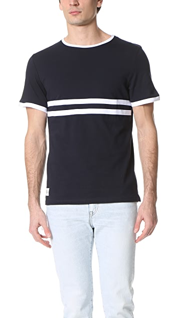 Native Youth Stripe Contrast Tee