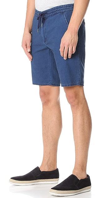 Native Youth Cotton Chino Shorts