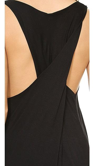 Oak Twist Back Dress