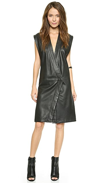 Oak Leather Judogi Dress