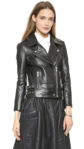 Oak Rider Leather Jacket
