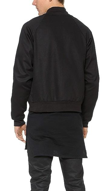 Oak Raglan Snap Jacket