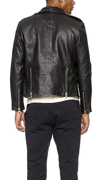 Oak Rebel Leather Jacket
