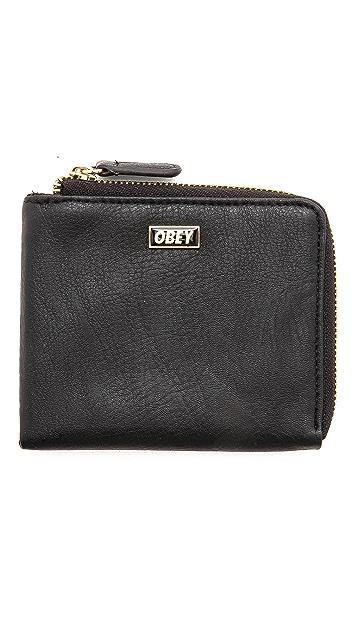 Obey Drexel Zip Wallet