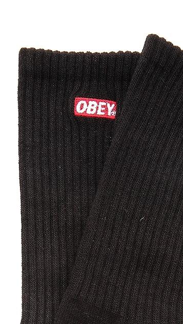 Obey Quality Dissent Socks