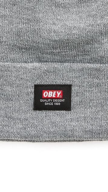 Obey Quality Dissent Beanie