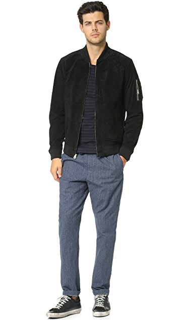 Obey Pilot Suede Jacket