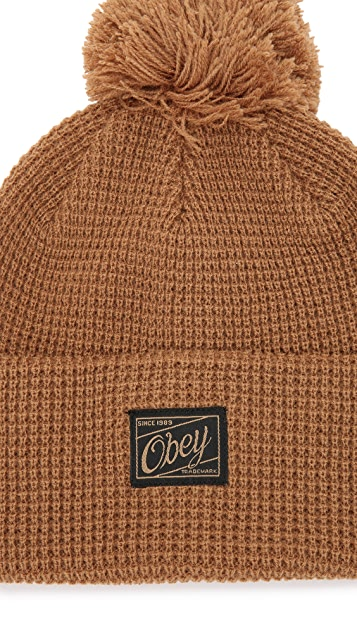 Obey Luxembourg Pom Beanie