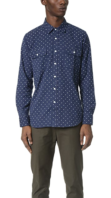 Obey Stanford Woven Shirt