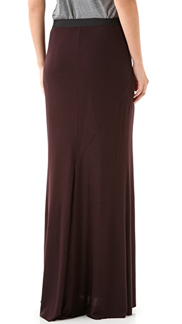 O by Kimberly Ovitz Agro Seamed Maxi Skirt
