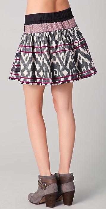Of Two Minds Sofia Ikat Skirt